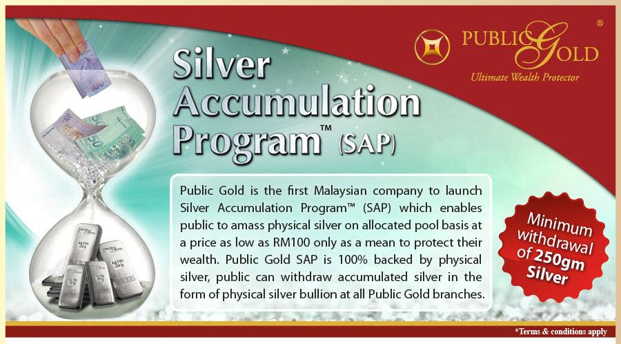 Simpan dan Kumpul Silver Dalam (SAP)