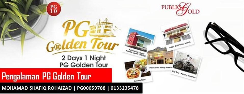 Pengalaman PG Golden Tour