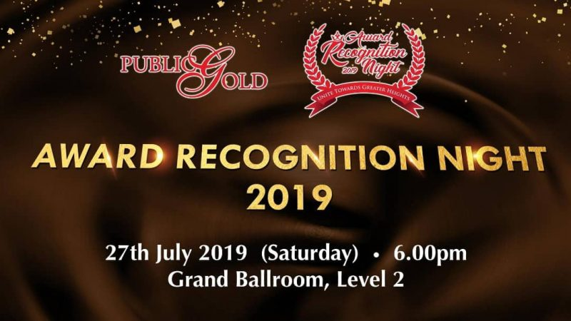 Award Recognition Night 2019