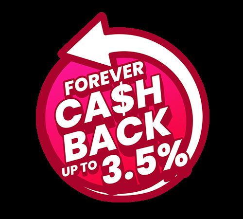 Berbelanja Sambil Dapat Diskaun & Cash Back 0.5 – 3.5%