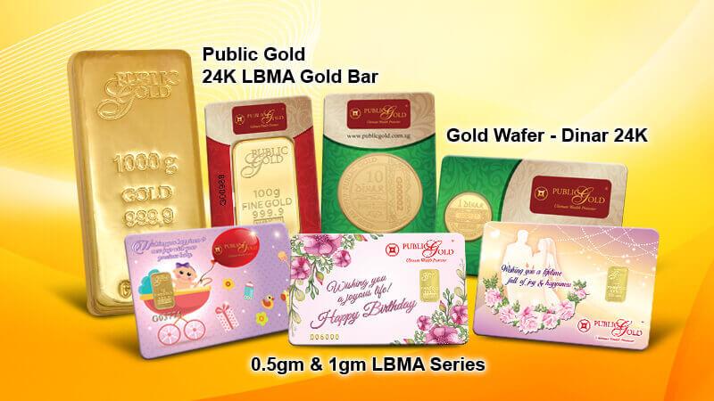 Gold Bar & Dinar Public Gold