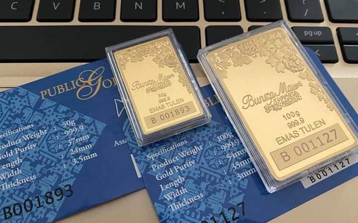 Alih Untung Bisnes Kepada Emas