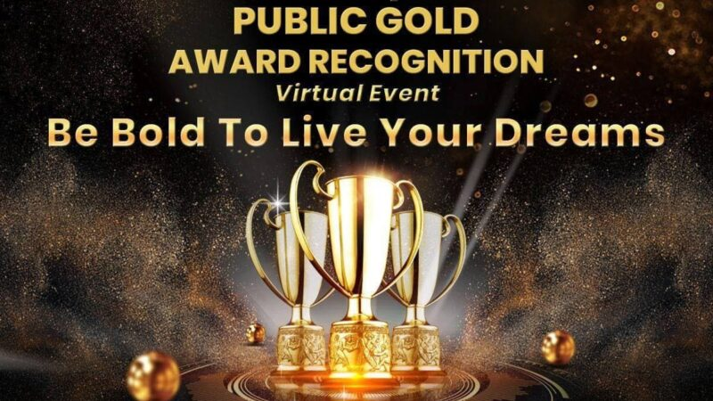 Public Gold Award Recognition