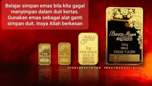Susah Ker Simpan Emas?